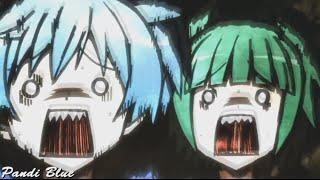 Смешные моменты Нагисы Шиоты и Каяны Каеде - Класс убийц (Аниме приколы)