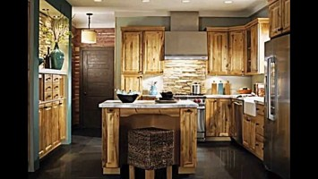 Rustikale Küche bietet ein stilvolles Ambiente    20 ...