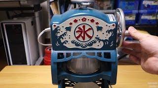 Ice shaver machine ドウシシャ 電動本格ふわふわ氷かき器