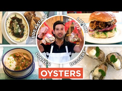 Pro Chef Uses Oysters In Every Meal From Breakfast to Dessert | Epicurious