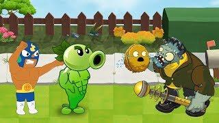 Plants Vs Zombies GW Animation - Episode 9 - Brawl Stars vs Frankengarg Gargantuar