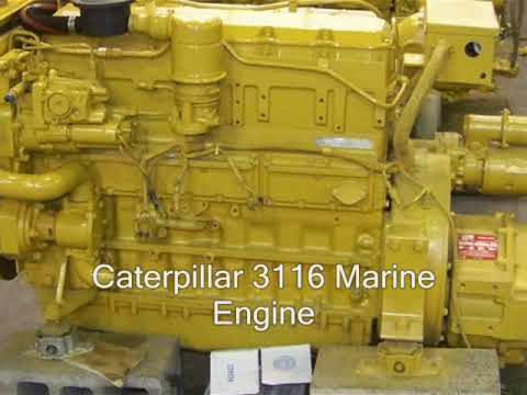 Cat 6 Wiring Diagram Caterpillar 3116 Marine Engine Youtube