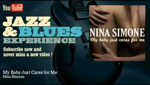 Download Music Nina Simone - My Baby Just Cares for Me - cover