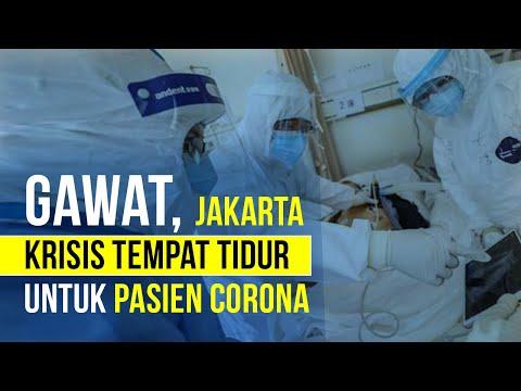 DKI Jakarta Krisis Tempat Tidur Pasien Covid-19