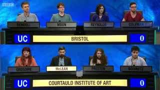 University Challenge S44E03 Bristol vs Courtauld