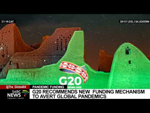G20 High-Level Panel recommends a new multilateral funding mechanism to avert pandemics