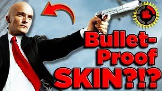 Film Theory: Is Hitman's Bulletproof Skin POSSIBLE?
