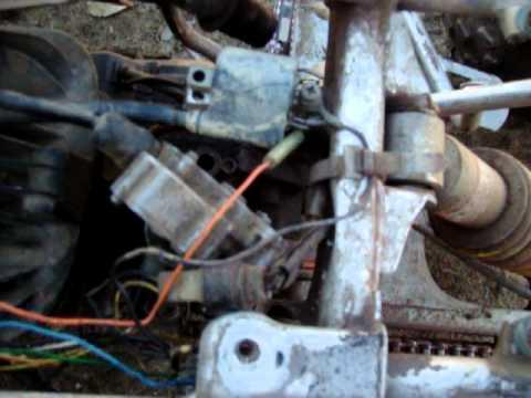 Kawasaki Atv 220 Wiring Diagram Yamaha Blaster Tors System Removal How To Youtube