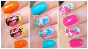 3 cute nail art design spring summer