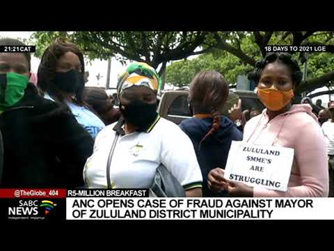 ANC opens a case of fraud against Zululand District mayor