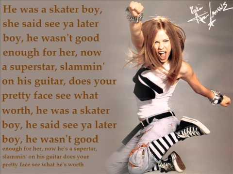 Girl Shoot Boy Wallpaper Quot Skater Boy Quot Avril Lavigne Lyrics Youtube