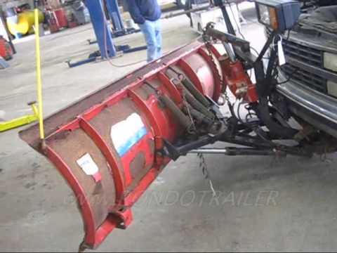 Utility Trailer Wire Diagram 92 Chevy 2500 4x4 W Western Uni Mount 8 Plow 1529 Up102