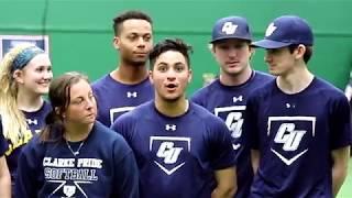 Baseball vs Softball at Clarke University