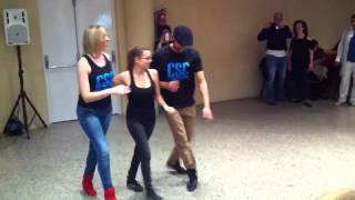 Salsa casino a 3... Con Javi Rubio, Susana Campos y Marta C