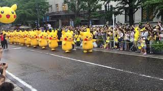 Scene from Pikachu Carnival Parade at Pikachu Outbreak 2017 [RAW ]
