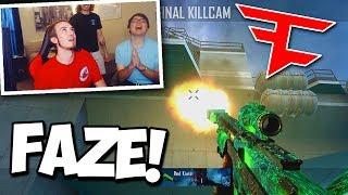 FAZE CARL HITS TRICKSHOTS AGAINST ME! - Red Kiwiz vs. FaZe Carl (BO2 Trickshot Faceoff)