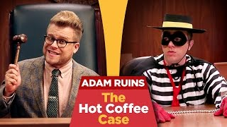 The Truth About the McDonald's Coffee Lawsuit | Adam Ruins Everything