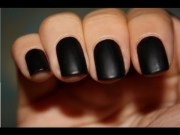 permanent black nails