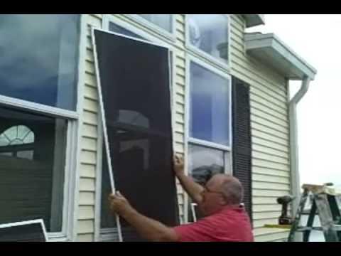 Solar Window Screens YouTube