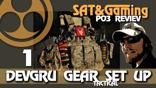(softair) DEVGRU GEAR Tactical SET UP - 1 (GK01)