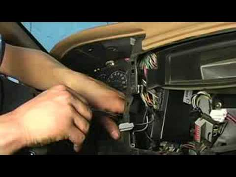 For A Mitsubishi Fork Lift Wiring Diagrams How To Replace Dashboard Lights Removing Instrument