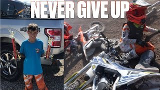 LIFE LESSONS LEARNED FROM RIDING DIRT BIKES | YOUNG MOTOCROSS RIDER TEACHES US ALL A LESSON