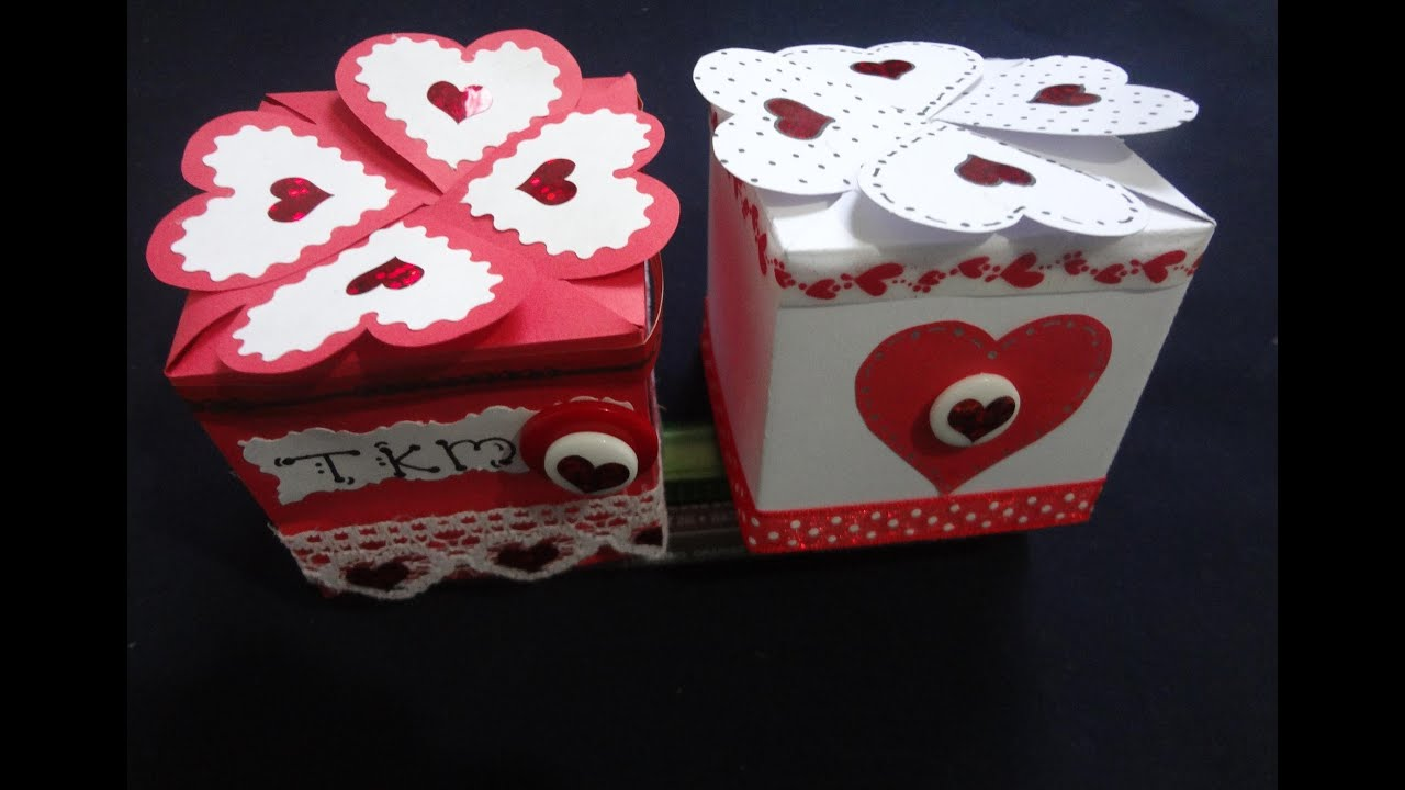 Arreglos Y 14 Del En Febrero De Madera Caja Dia Para De Febrero Amistad De 14 La El Amor