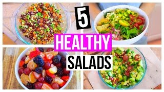 5 HEALTHY BACK TO SCHOOL LUNCH IDEAS!