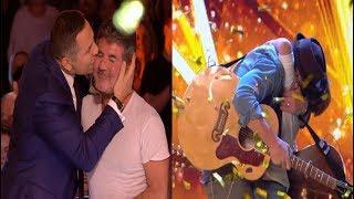 GOLDEN BUZZER From Simon   Dream Dad & Son Duo Dazzle The Judges