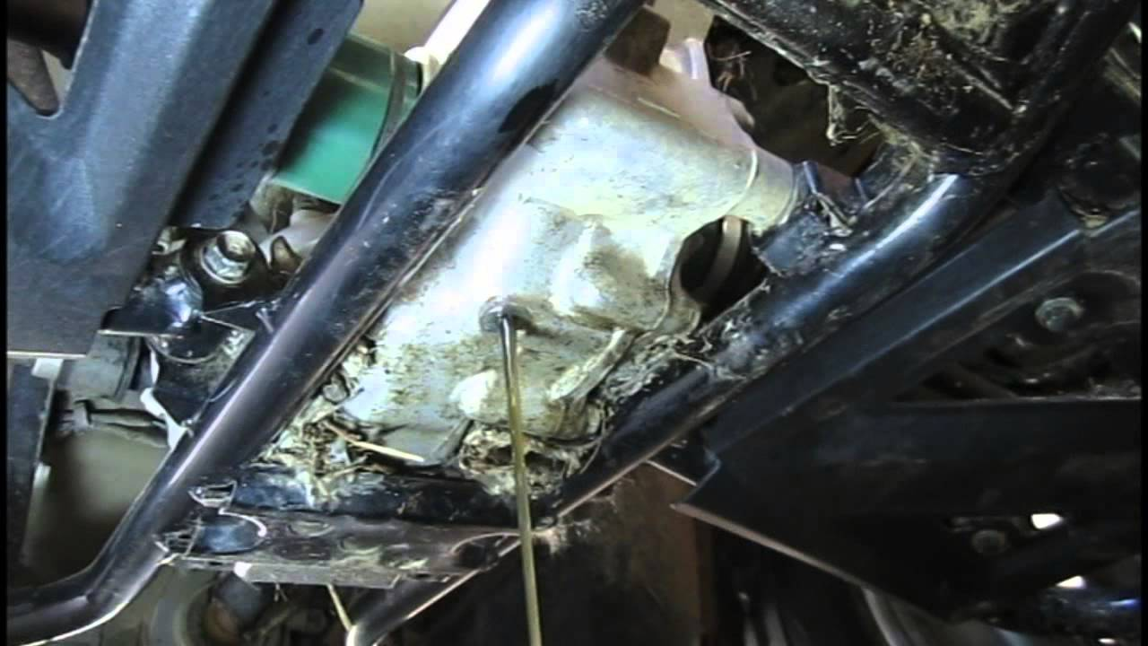 Kawasaki Mule 4010 Fuel Filter Location Diy How To Change Rear Differential Wet Brake Fluid
