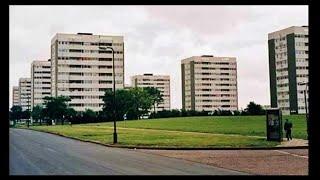 Birmingham UK Then and Now