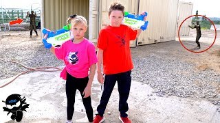 X-Shot Team up with Ninja Kidz!