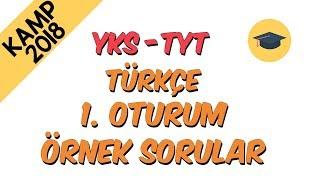 ÖSYM Örnek Sorular - Türkçe | Kamp2018