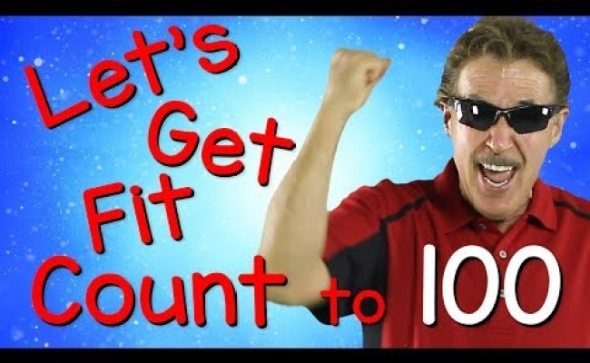Let S Get Fit Version 3 Count To 100 Exercises For