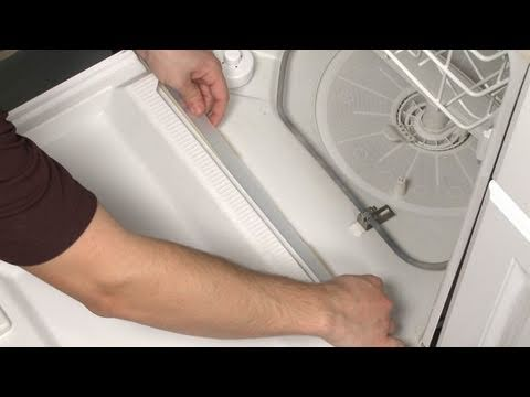 Dishwasher Bottom Door Gasket Replacement  Frigidaire Dishwasher Repair Part 154576501  YouTube