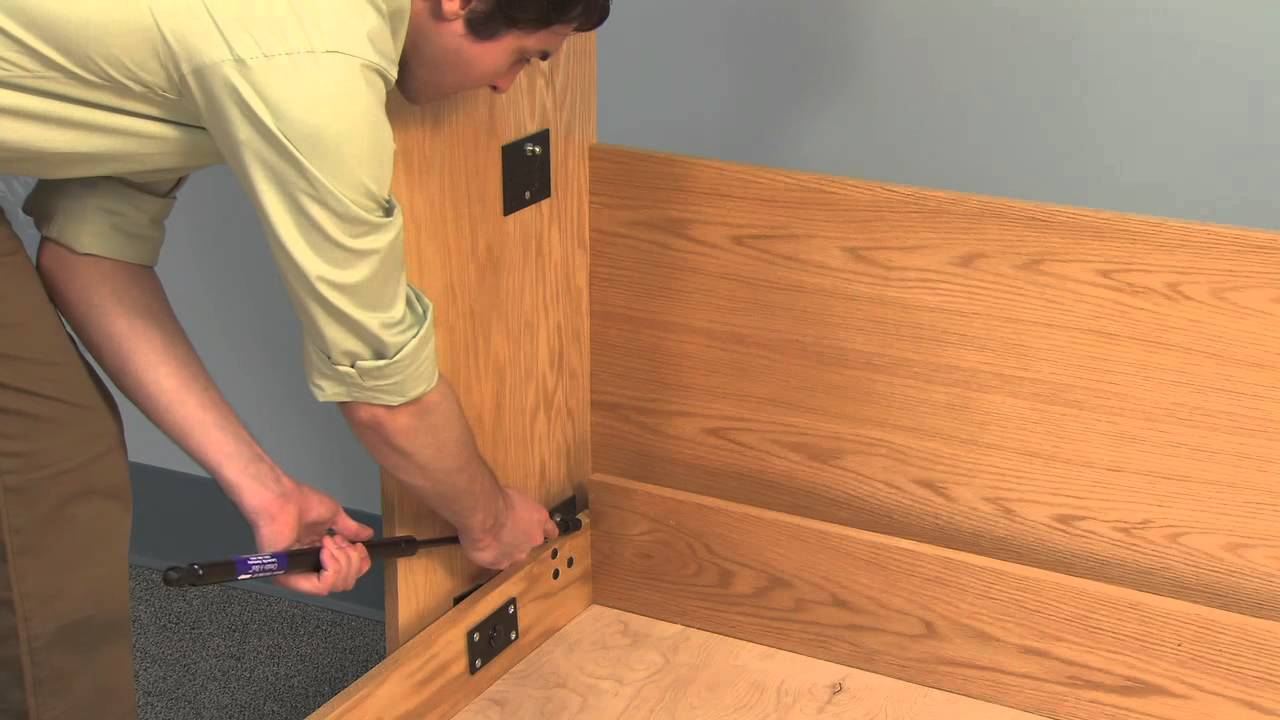 CreateABed Deluxe Murphy Bed Mechanism with TUBE LEGS