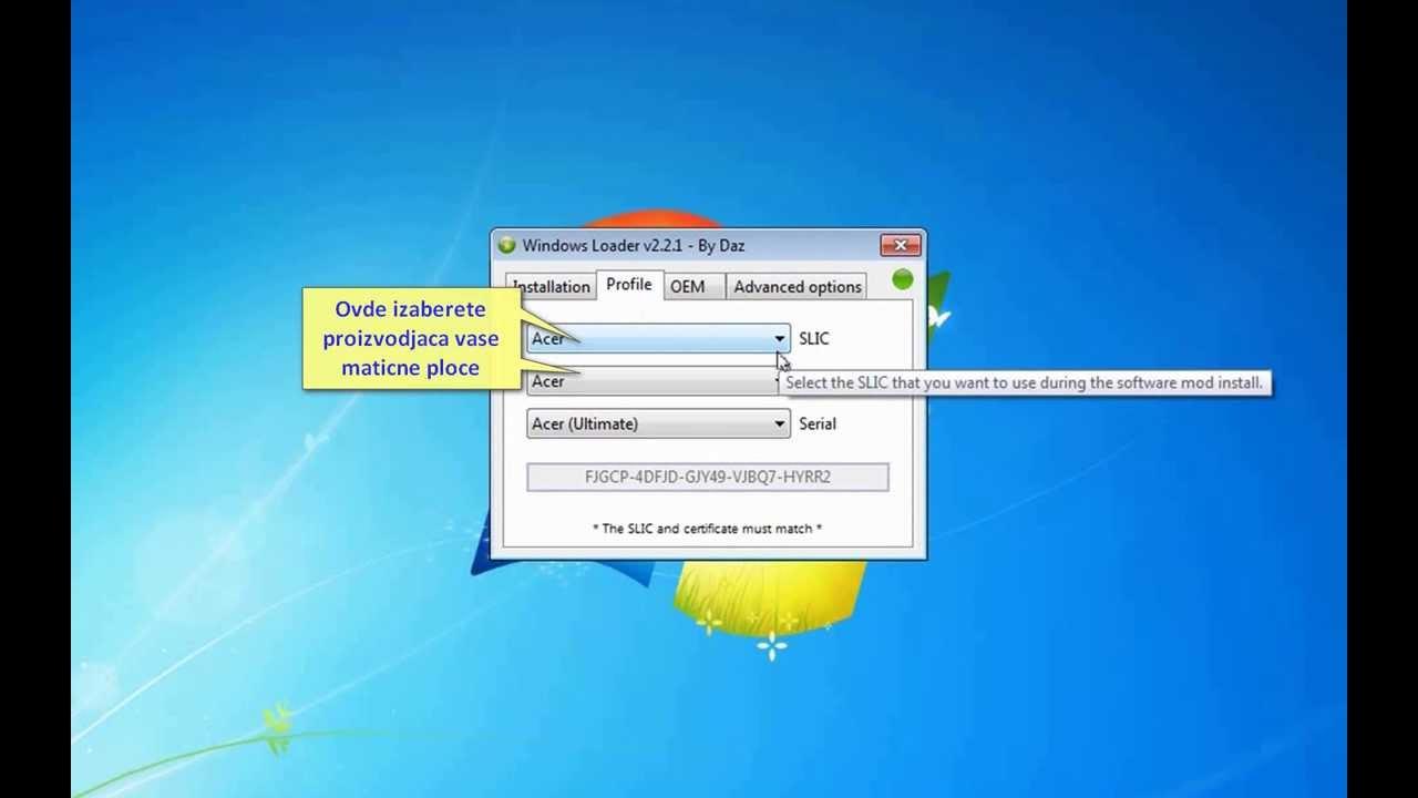 Windows loader v1 9 by daz : impavpha