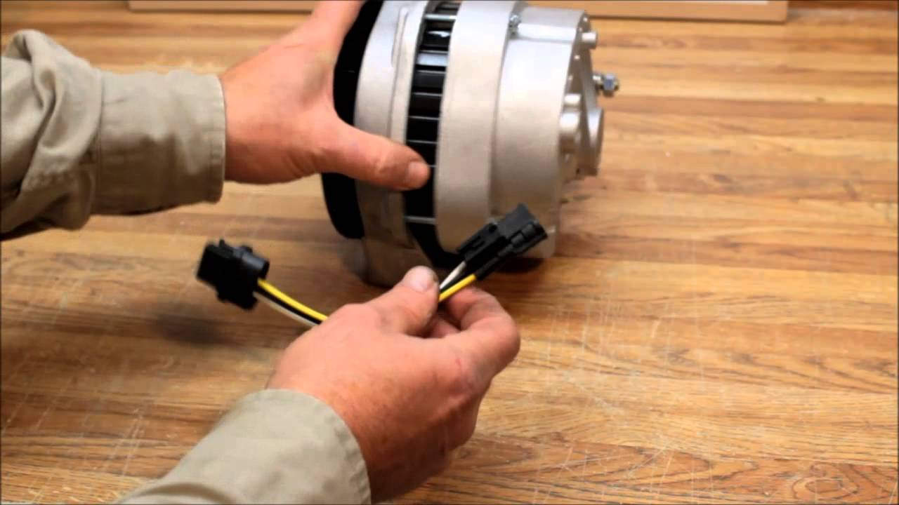 wiring diagram alternator rj11 pinout 4runner 200 amp high output swap with 3-pin oval plug - youtube