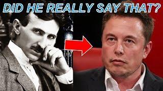 Elon Musk on Nikola Tesla – What He Said May Shock You