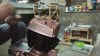 Yezdi RoadKing engine work complete Part 4