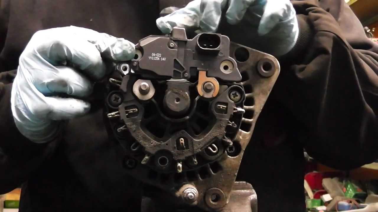 3 Pin Alternator Wiring Diagram Vw Audi Seat Skoda Alternator Not Charging Diagnose And