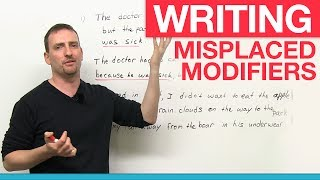 Writing - Misplaced Modifiers