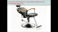 Tattoo, Shampoo, Threading, Styling, and Makeup Chairs by