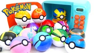 POKEMON Play-Doh and MAGIC MICROWAVE Surprise Cooking Playset   Compilation