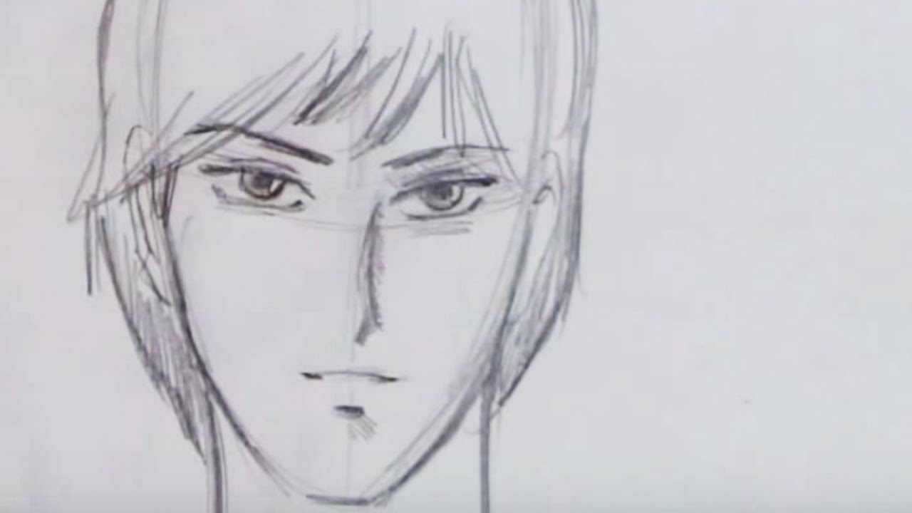 How To Draw a Handsome Manga Guy  YouTube