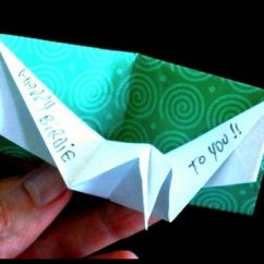 Origami Dove Diagram Orbital Filling For Sulfur How To Make An Birthday Pop-up Card. - Youtube