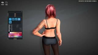 Black Desert (KR) | Improved Character Creation Redhead Sorceress (OBT Gameplay)