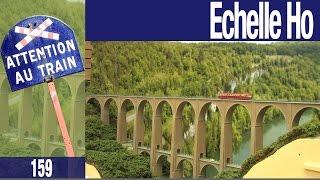 Modélisme ferroviaire : Le viaduc de bolozon à l'échelle Ho