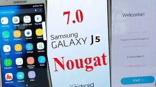 (Exclusive 100% working): How to Update Galaxy J5 Like Note 7 and S8 (android 7 Nougat) ᴴᴰ