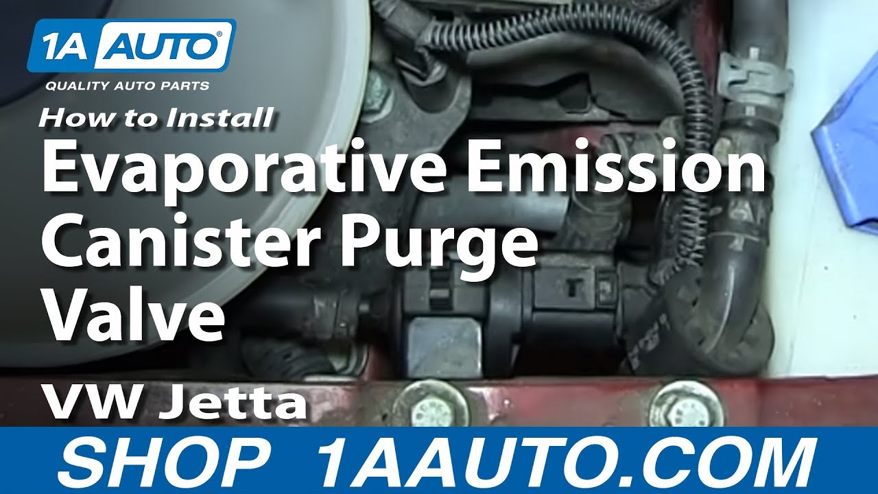 To Test And Replace Evap Canister Purge Control Valve P0443 Youtube